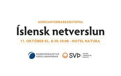 Morgunverðarrráðstefna: Íslensk netverslun, 11. október 2018