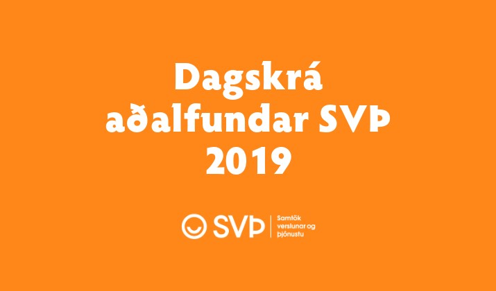 Dagskrá aðalfundar SVÞ 2019