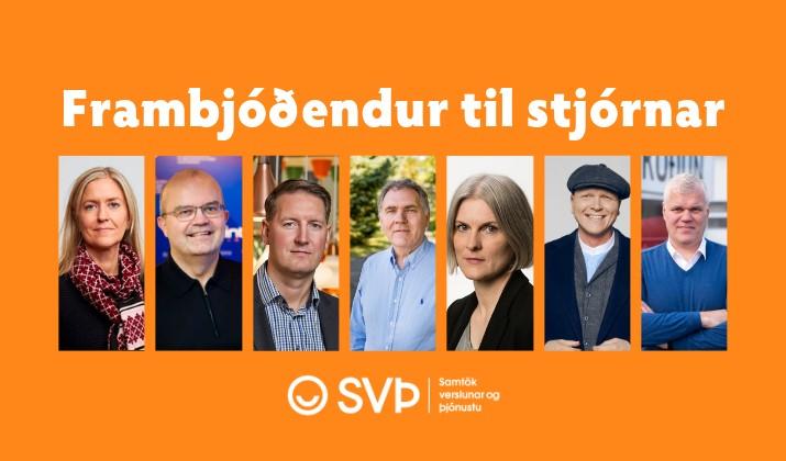 Kynning á frambjóðendum til stjórnar SVÞ 2019