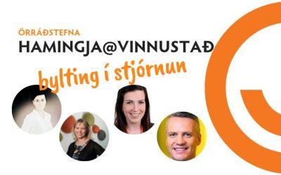 Örráðstefna: Bylting í stjórnun – hamingja@vinnustað