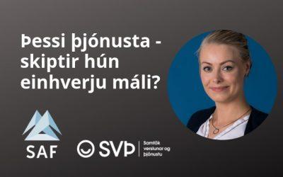 Þessi þjónusta – skiptir hún einhverju máli?