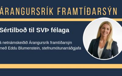Sértilboð á netnámskeiðið Árangursrík framtíðarsýn