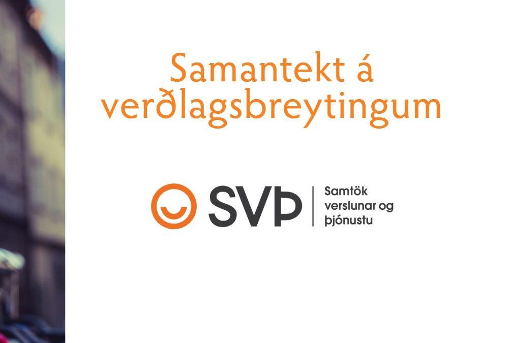 Samantekt á verðlagsbreytingum – júní 2020