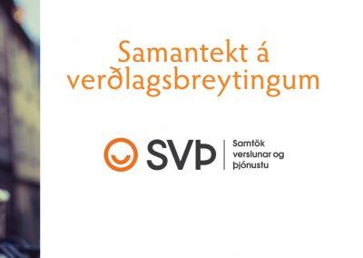Samantekt á verðlagsbreytingum – október 2019