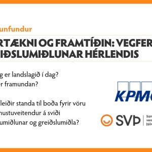 Fjártækni og framtíðin: Vegferð greiðslumiðlunar hérlendis