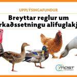Breyttar reglur um markaðssetningu alifuglakjöts - MAST