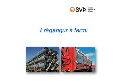 Flutningasvið: Frágangur á farmi – 2012