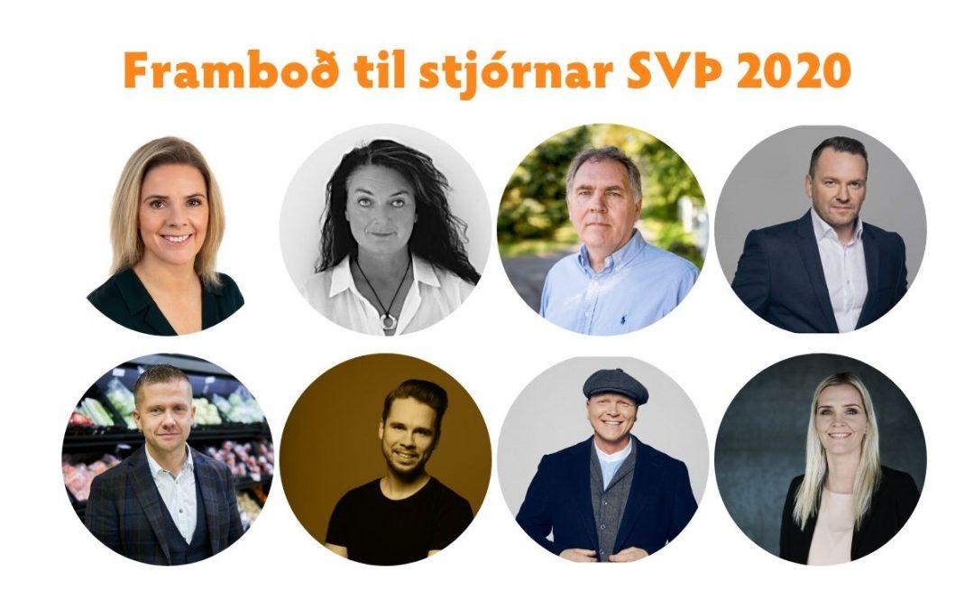 Framboð til stjórnar SVÞ 2020