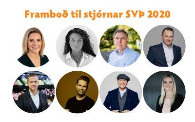Kynning á frambjóðendum til stjórnar SVÞ 2020