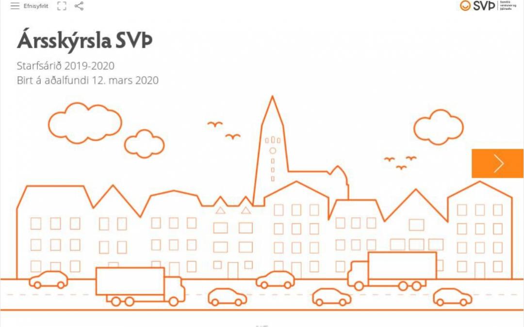 Ársskýrsla SVÞ 2019-2020