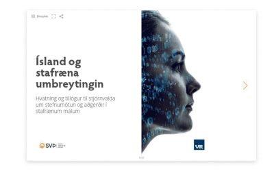 SVÞ og VR hvetja stjórnvöld til stefnumótunar og aðgerða í stafrænu málum