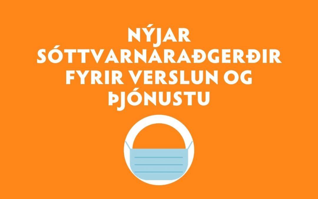 Nýjar sóttvarnaraðgerðir fyrir verslun og þjónustu