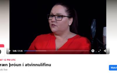 Verkefnastjóri stafrænnar þróunar í viðtali hjá Bryndísi Haralds