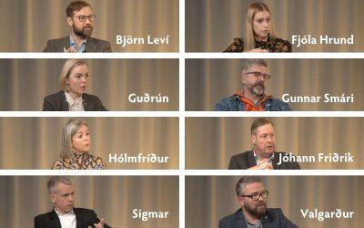 Við spurðum frambjóðendur spjörunum úr!